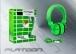PL-2275 MİKRAFONLU MP3 VE BİLGİSAYAR KULAKLIK KUTU